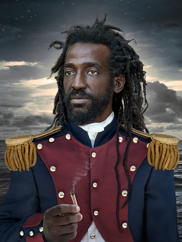 Captain Caribean, lambdaprint, 2015