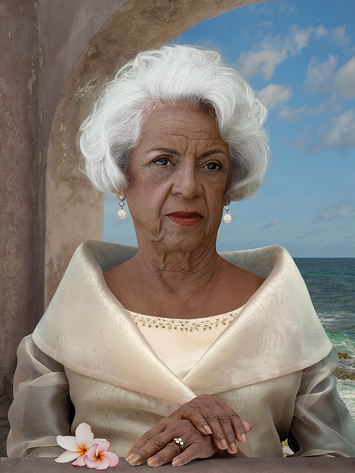 Rina Penso, Queen of Curaçao, lambdaprint, 2015