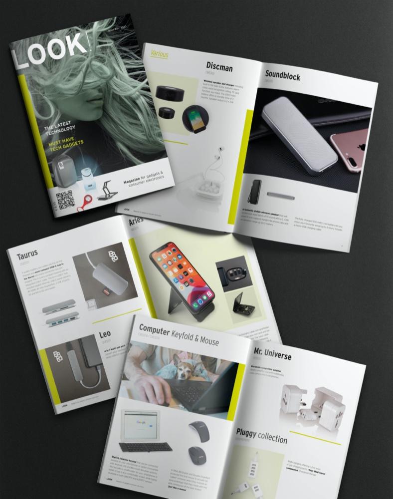 Brochure for Premium Square Group, 2020