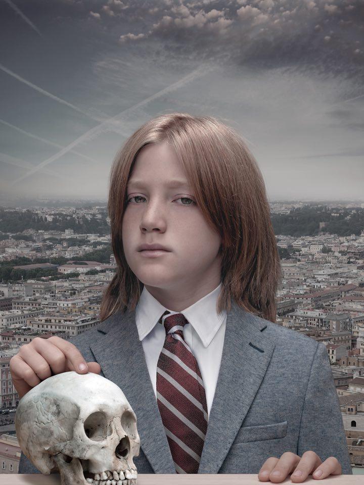 Boy with Skull, lambdaprint 2013